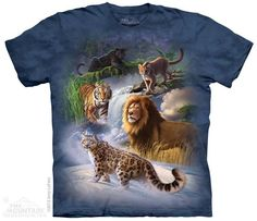 The Mountain - Global Cats T-Shirt,  (http://shop.themountain.me/global-cats-t-shirt/)