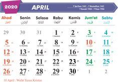 Desain Kalender 2020 Lengkap CDR: Jawa - Hijriah - Masehi
