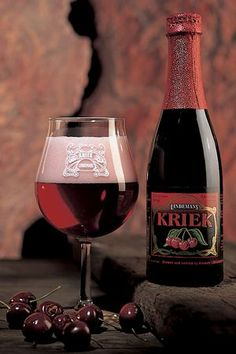Famous lambic brewed with the juciest cherries. Belgium Beers the best.