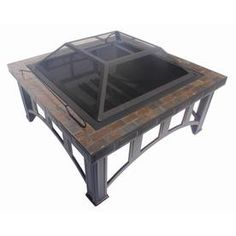 Garden Treasures�30-in Rubbed Bronze Steel Wood-Burning Fire Pit from Lowes at Waterford