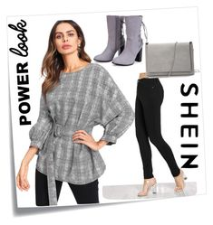 """""""shein9/10"""" by elvisa-mirsad ❤ liked on Polyvore featuring Post-It"""