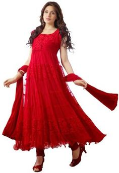 #BuyFromLink --> http://fkrt.it/DFTyFuuuuN Brasso #Women's #Embroidered #Semi-stitched #Salwar #Suit #Dupatta #Material #Dress #SalwarKameez #Red #Floral #Designer #Anarkali #Salwar #Kameez #Chiffon #Dupatta #Indianfashion #Awesome #look #style  #Shop #Buy #online #india