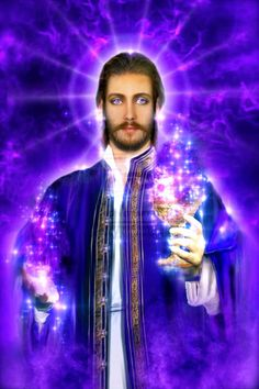 Message from Saint Germain: How to Use the Pink Flame of Love by Carla Thompson - Ashtar Command - Spiritual Community Network