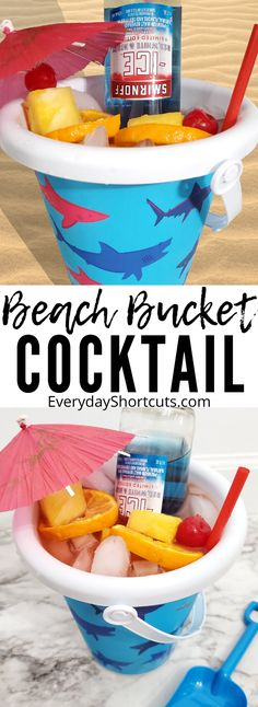 Low Calorie Alcoholic Drinks, Alcoholic Punch Recipes, Coctails Recipes, Alcohol Drink Recipes, Malibu Drinks, Beach Drinks, Summer Drinks, Fun Drinks, Easy Cocktails