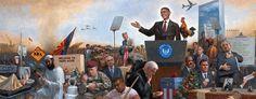 Anti-Obama Artist Debuts 'Obamanation' Interactive Painting - Jon McNaughton - Fox Nation