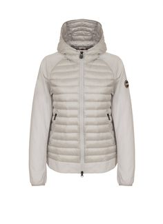 Women's unlined jacket with down feather inserts - Colmar