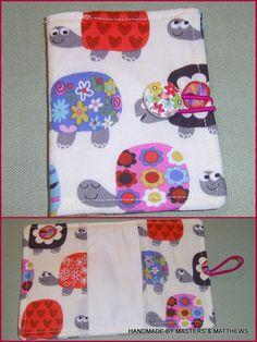 Card holder / Bus pass holder - White Tortoise - The Supermums Craft Fair