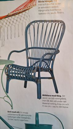 #fåtölj #stol #punschveranda