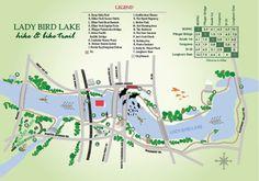 My Proving Ground of Choice: Lady Bird Lake Hike  Bike Trails - Austin, TX.