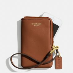 The Legacy North/south Universal Case In Leather from Coach