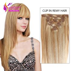 7A Full Head Clip In Natural Hair Clip In Human Hair Extensions 8pieces/set Brazilian Virgin Hair Clip in Extensions Straight