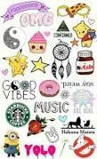 Bildergebnis für food emoji wallpaper