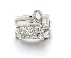 Diamonds, whitegold and platinum #ateliertorbjorntillander #jewellery #jewelry