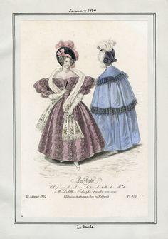 La Mode January 1834 LAPL