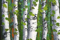 Birch Trees Painting, Birch Tree Art, Forest Painting, Top Paintings, Seascape Paintings, Landscape Paintings, The Joy Of Painting, Wonderful Flowers, Tree Trunks