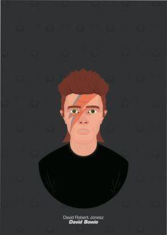 David Bowie, ArtStation at https://www.artstation.com/artwork/e4Xz3