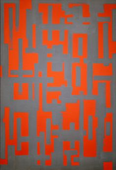 untitled (red and gray) by ad reinhardt