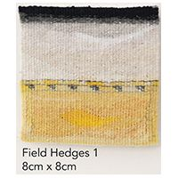 Jilly Edwards - Field Hedge 1 | woven design | weaving | Abstract Tapestry