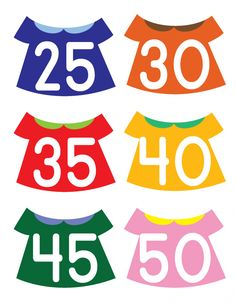 Put the Numbers on the Clothesline - Gift of Curiosity Preschool Math, Maths, Counting To 100, Owl Classroom, Early Math, Primary School, Pre School, Clothes Line, Matching Games