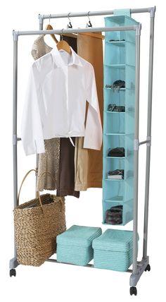 Suport pentru haine si pantofi Firmin 78.5 x 43 x (150-165) CM Wardrobe Rack, Best Sellers, Furniture, Home Decor, Decoration Home, Room Decor, Home Furnishings, Home Interior Design, Home Decoration