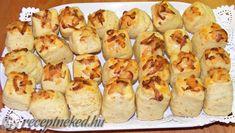 Sajtkrémes pogácsa Baked Potato, Menu, Potatoes, Baking, Vegetables, Ethnic Recipes, Food, Menu Board Design, Potato