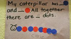 The Very Hungry Caterpillar math pre-k/ kindergarten