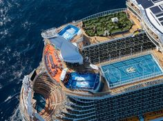 Oasis of the Seas  and Allure of the Seas, with some of the best sundeck.