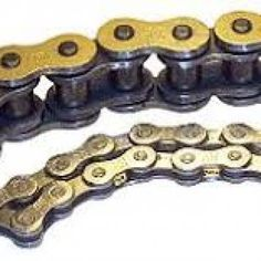 Difference between single-pitch roller chains and double-pitch roller chains Roller Chain, New Industries, Stainless Steel Chain, Pitch, Chains