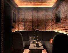 Wohnideen interior design einrichtungsideen bilder - Shisha bar dekoration ...