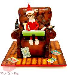 Jesse's Elf Birthday Cake by Pink Cake Box