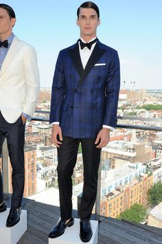 Hickey Freeman Menswear Spring Summer Primavera Verano 2016 New York Fashion Week - #Menswear #Trends #Tendencias #Moda Hombre