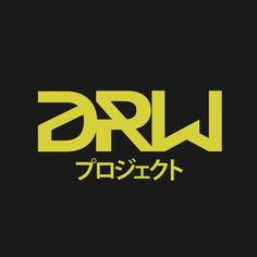 My logo, called DRW PROJECT (2015).   Created by Andrew Mikail. Bandung, Indonesia #logo #design #graphicdesign #original #drwproject #illustrator #illustration #branding