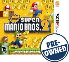 New Super Mario Bros. 2 — PRE-Owned - Nintendo 3DS