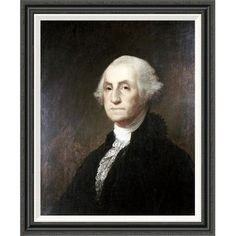Global Gallery 'George Washington' by Thomas Sully Painting Print on Wrapped Canvas Size: H x W x D Washington Art, George Washington, Painting Frames, Painting Prints, Art Prints, American Presidents, American History, Presidents Wives, Long Pictures