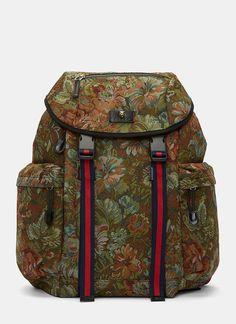 24dfeebbc98f Gucci Zaino Floral Brocade Backpack