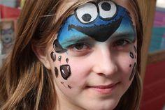 Schmink koekiemonster - carnaval