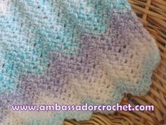 Free Preemie Blanket Crochet Pattern   Ambassador Crochet**