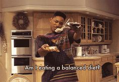 4. He pigs out on junk food, and can show you the way around an authentic philly cheesesteak. | Why The Fresh Prince Of Bel-Air Makes The Perfect BFF
