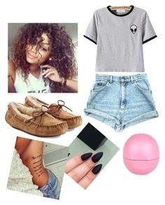 """""""chillin"""" by lilyestell76 ❤ liked on Polyvore featuring UGG Australia, River Island, women's clothing, women, female, woman, misses and juniors"""
