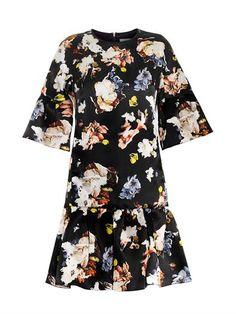 Logan floral-print silk-organza dress | Erdem | MATCHESFASHION...