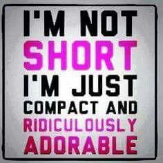 Short girl stuff