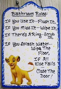 Lion King Bathroom Set My Web Value