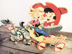 Awesome Vintage Child Decor Wall Hanging  Yeehaw by WINDSEEDstudio, $32.00