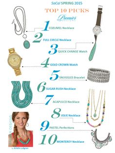 Here are the TOP 10 Pics for the Premier Designs Jewelry Spring 2015 Collection! Can you say GORGEOUS?!!! #pdstyle2015 #pdrally2015 www.premierdesigns.com