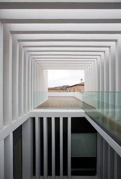 Atrio Relais Châteaux Hotel, Cáceres, Spain by  Mansilla and Tuñón Architects