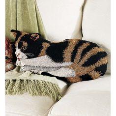 Found it at Wayfair - Cat Pillow