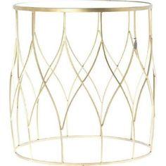 Beistelltisch Amaro, gold, groß Decor, Furniture, Home Decor, Mirror