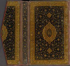 Illustrated Manuscript Of A Divan Of Hafiz. BInding attributed to Sultan Muhammad, Persian (16th century) Iran, Tabriz c.1530