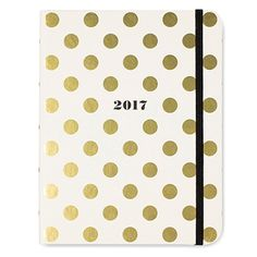 Kate Spade New York 17-Month Medium Agenda - Gold Dots 2017 by Kate Spade New York: Amazon.de: Bürobedarf & Schreibwaren