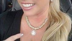 Janesko Compass necklace.  #compass #necklace #travel #modern #jewelry